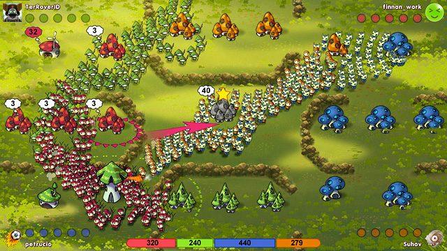 Introducing Mushroom Wars: Online