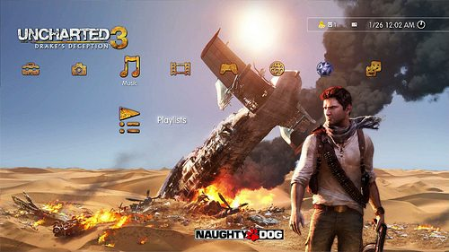 UNCHARTED 3 hits PlayStation Store, Exclusive PSN Avatar Here, 50% off UNCHARTED 2 DLC