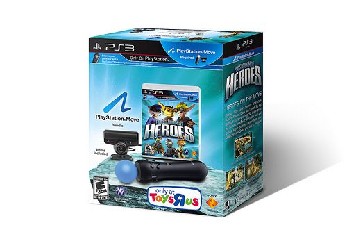 PlayStation Move Heroes Bundle, Box Art Revealed