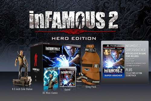 inFAMOUS 2 Countdown Begins: Release Date, Pre-Orders & HERO Edition Announced!