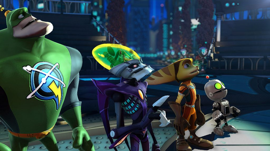 Resistance 3 And Ratchet Clank All 4 One Come To London