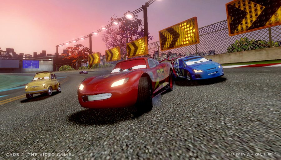 Cars 2 The Video Game Supports 3d And 4 Player Split Screen On Ps3 Playstation Blog