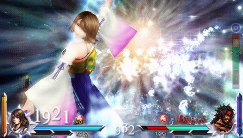 Dissidia 012[duodecim] Final Fantasy: EX Burst Video Tour