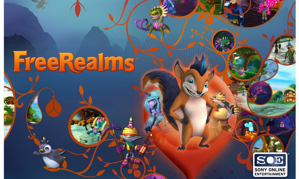 Free Realms Available on PSN March 29