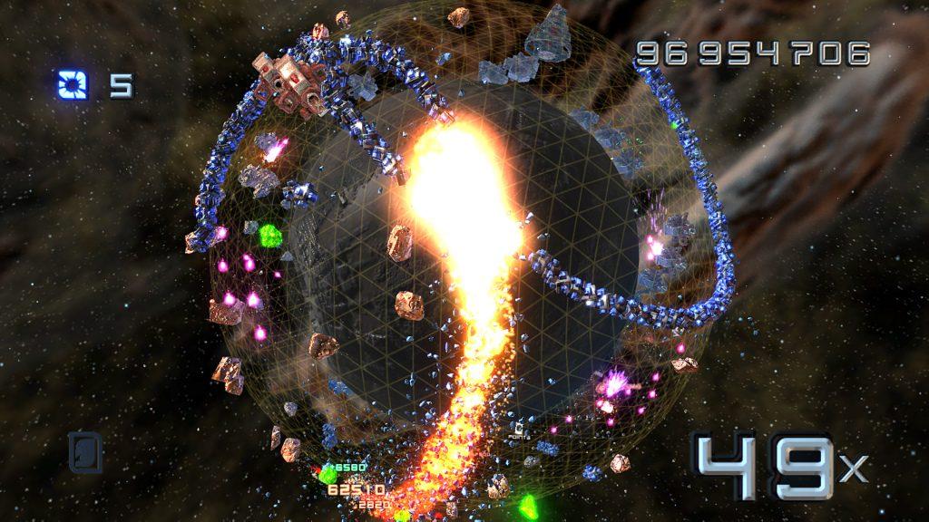 New Super Stardust HD DLC: Impact Mode