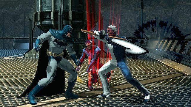 DC Universe Online Free Update Brings Two-Face, New Bat Cave Raids