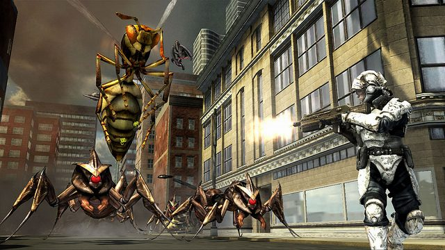 Meet the Monsters of Earth Defense Force: Insect Armageddon for PS3
