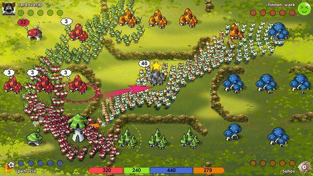 Mushroom Wars Online DLC Hits PSN Today, Developer Tournament Coming Soon