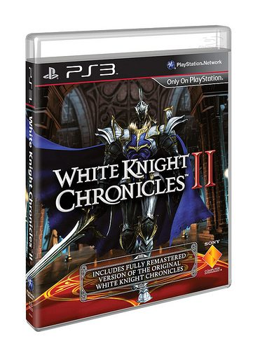 White Knight Chronicles II Includes The Original WKC On The Same Blu-Ray Disc