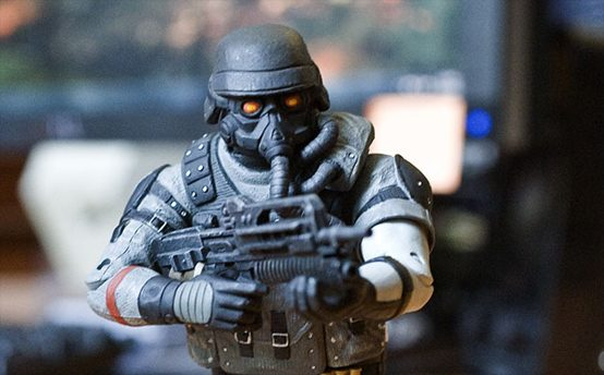 Helghast Invade Your Toy Shelf!