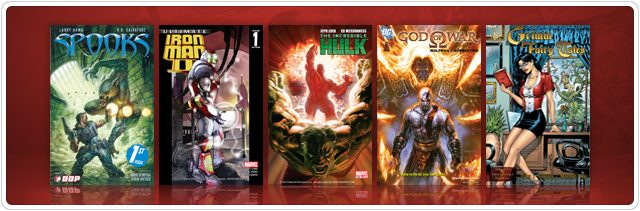 Digital Comics Store Update