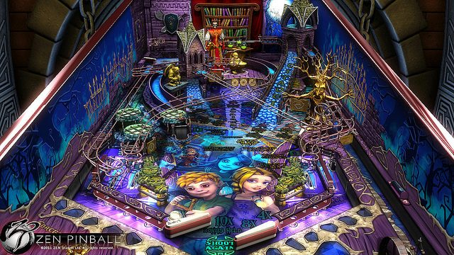 Sorcerer's Lair Table for ZEN Pinball Unveiled on PSN, Watch the Exclusive Trailer