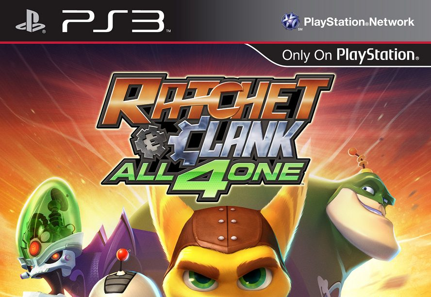 Ratchet & Clank: All 4 One Box Art And Release Date Announced