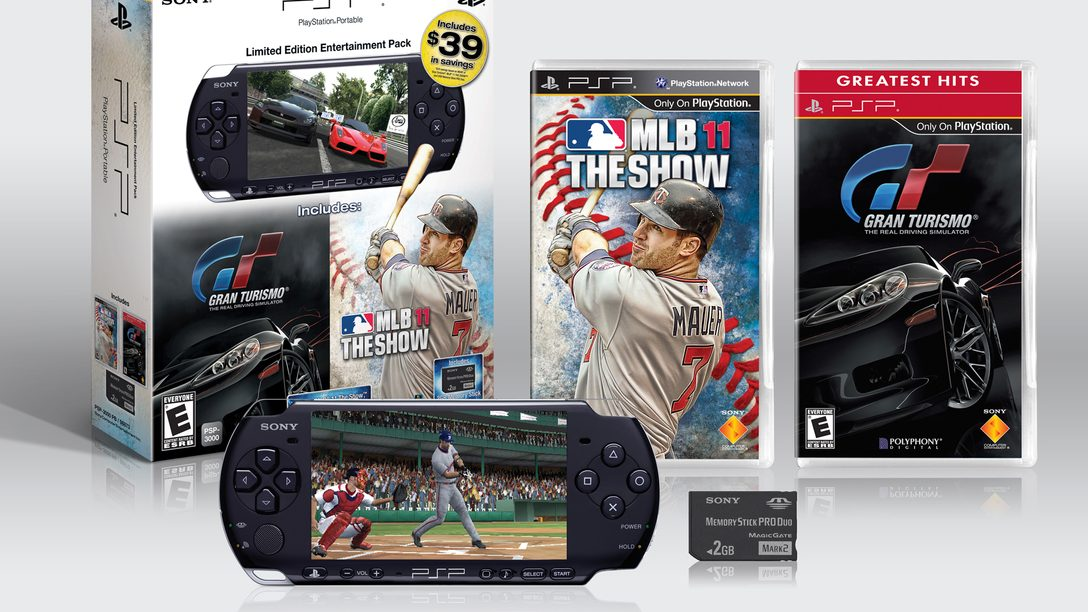 New PSP Limited Edition Entertainment Pack for Dads & Grads