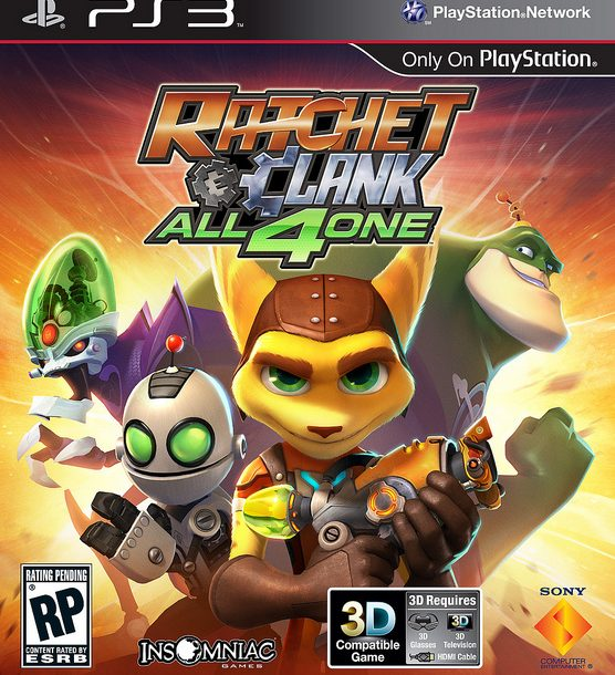 Ratchet & Clank: All 4 One Releasing October 18th