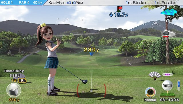 PS Vita Preview: Hot Shots Golf (Working Title)
