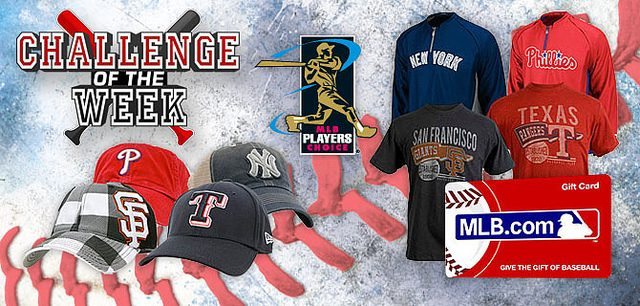 MLB The Show Challenge of the Week #15 – $250 MLB.com Gift Card!