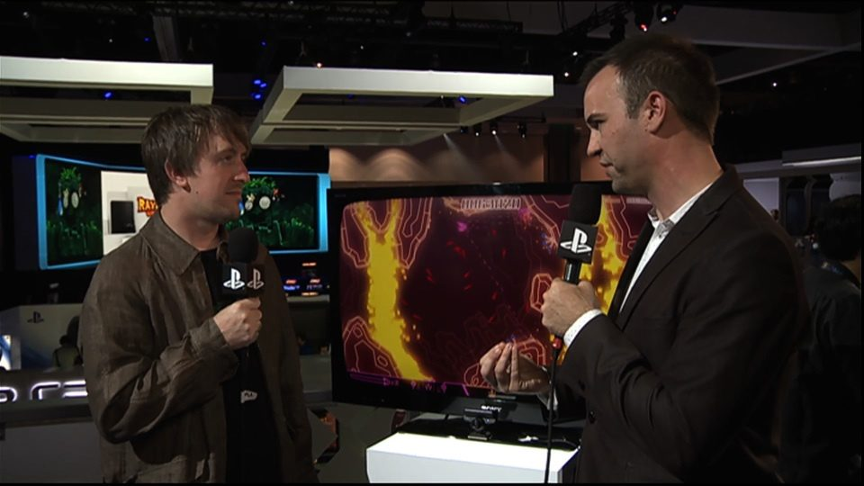 E3 Replay: PixelJunk sidescroller Brings Retro Homage, Particles Galore to PSN
