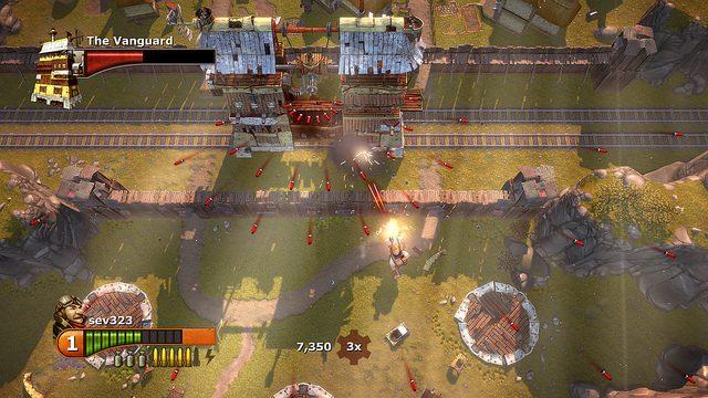 Gatling Gears Pulls Out the Big Guns on PSN