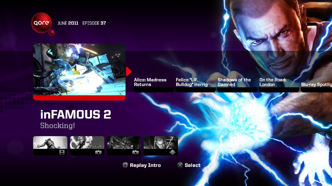 Qore Episode 37 – inFAMOUS 2, Alice, Shadows of the Damned