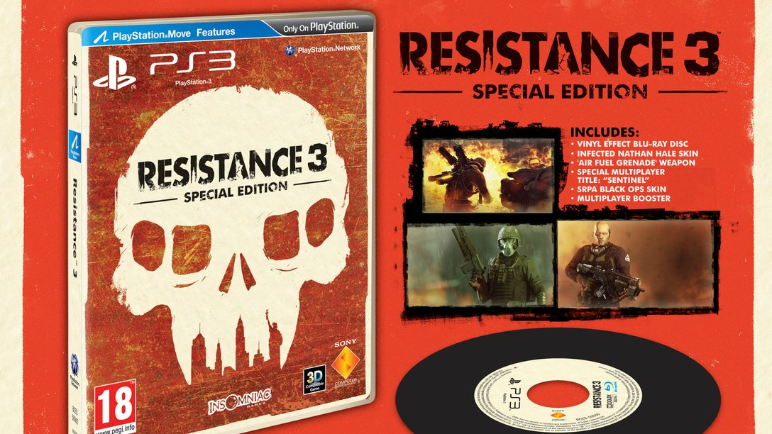 Resistance 3 Survivor Edition Trailer