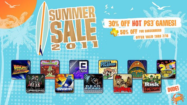 PSN Summer Sale 2011: 30% Off 11 Games