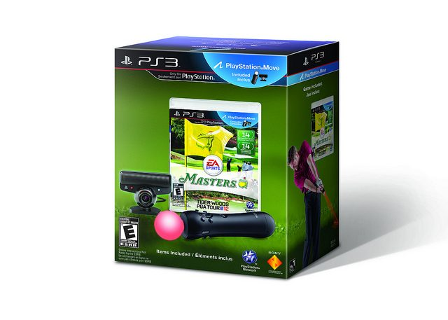 Introducing the PlayStation Move Tiger Woods PGA TOUR 12: Masters Bundle