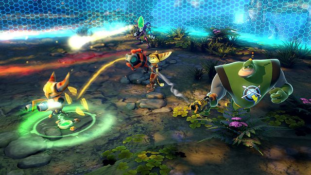 The Special Weapons of Ratchet & Clank: All 4 One