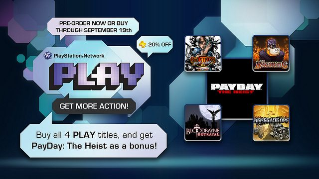 Pre-orders for PlayStation Network PLAY Begin Now!