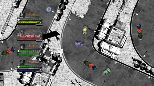 Monochrome Racing Speeds Into PlayStation Minis Tomorrow