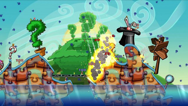 Four New DLC Packs for Worms 2: Armageddon This Month