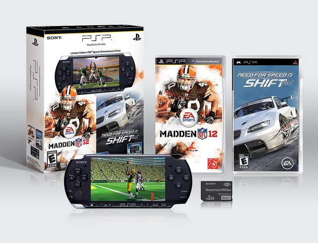 Coming Soon: Madden NFL 12 & Need for Speed SHIFT PSP Entertainment Pack