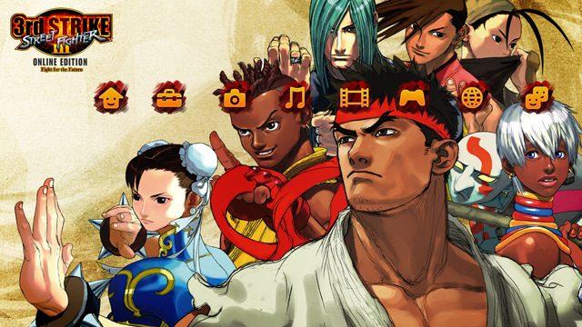 Street Fighter III: Third Strike Shoryukens PSN PLAY August 23rd