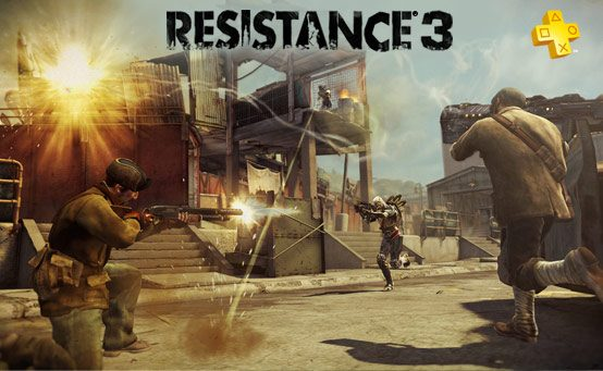 Coming to PlayStation Plus: Resistance 3 Multiplayer Beta and Assassin's Creed: Revelations Multiplayer Beta