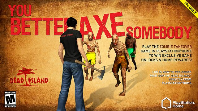 Over 8 Million Zombies Killed in PlayStation Home + Sodium Silicon Lounge & More