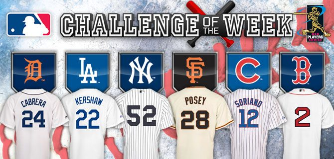MLB The Show Challenge of the Week Week #26 – Choice of Signed Jersey!