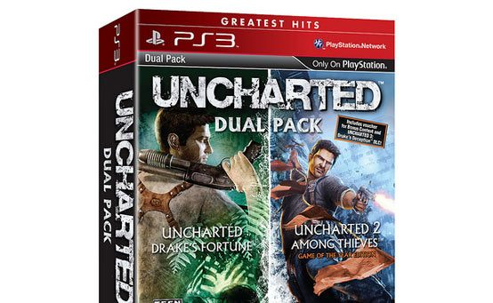 UNCHARTED Greatest Hits DualPack in Stores September 6th
