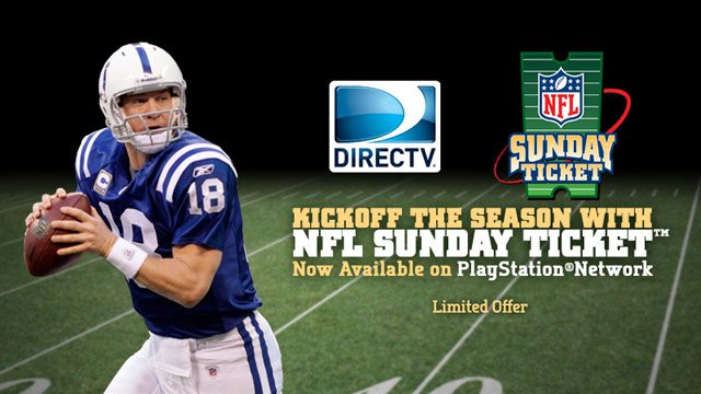 Kickoff the NFL Season on PS3 with the NFL SUNDAY TICKET App, Available Today on PlayStation Network