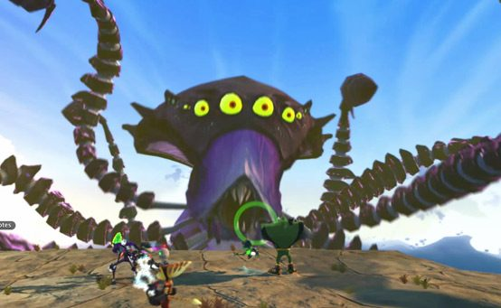 Ratchet Clank All 4 One Face The Octomoth Playstation Blog