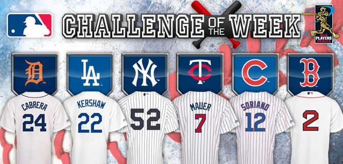MLB The Show Challenge of the Week Week #30 – Choice of Signed Jersey!