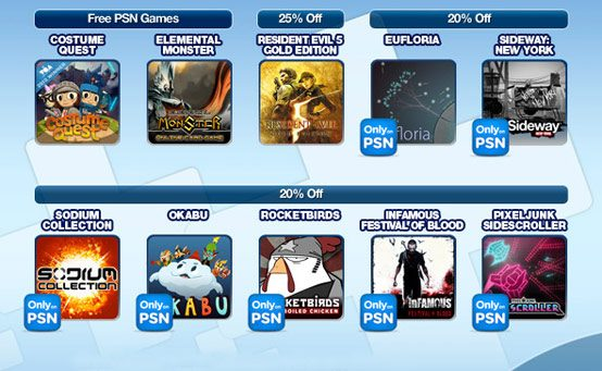 PlayStation Plus October Offers: Free Costume Quest and Discounts Galore