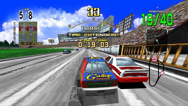 SEGA Arcade Classic DAYTONA USA Gets a Rolling Start on PSN Tomorrow