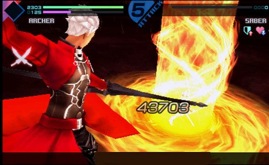 Fate/EXTRA Hits PSP Today