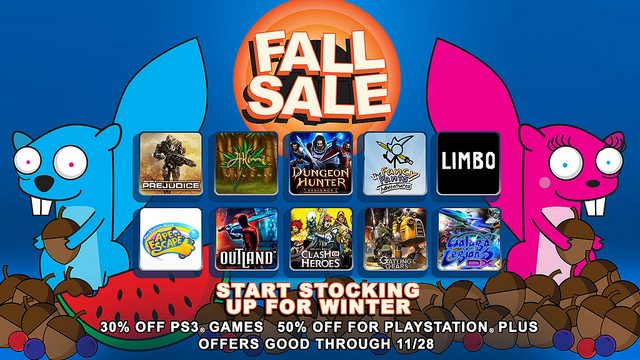 Stock Up for Winter with PSN's Fall Sale – Get 30% to 50% Off