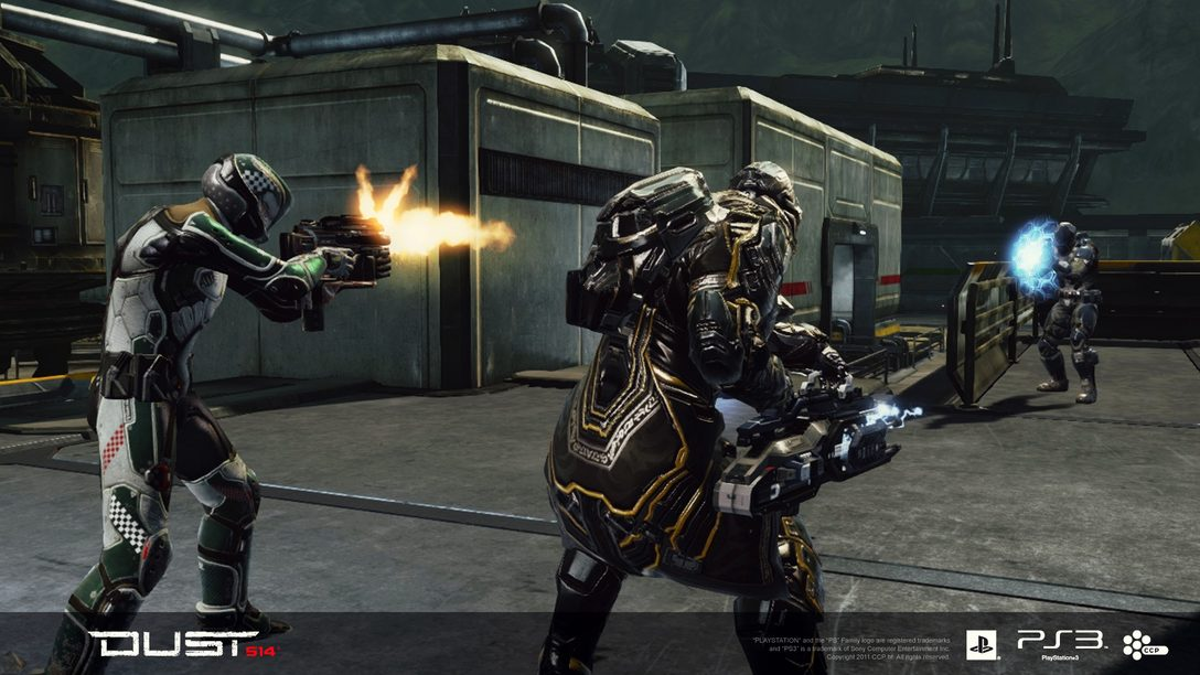 Infantry Weapons In DUST 514