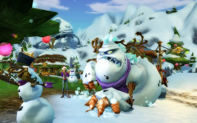Free Realms Celebrates Snow Days