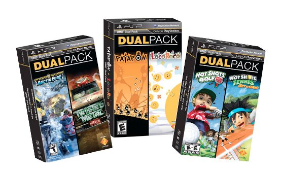 Twisted Metal, Patapon, and Hot Shots Headline New PSP Dual Packs