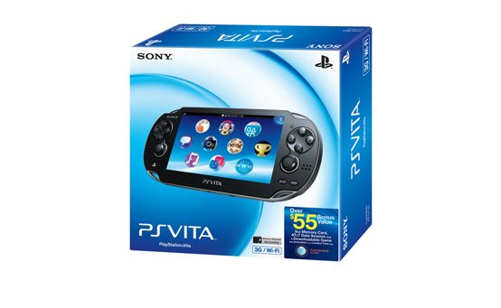 Special Launch Day PS Vita 3G/Wi-Fi Bundle Announced