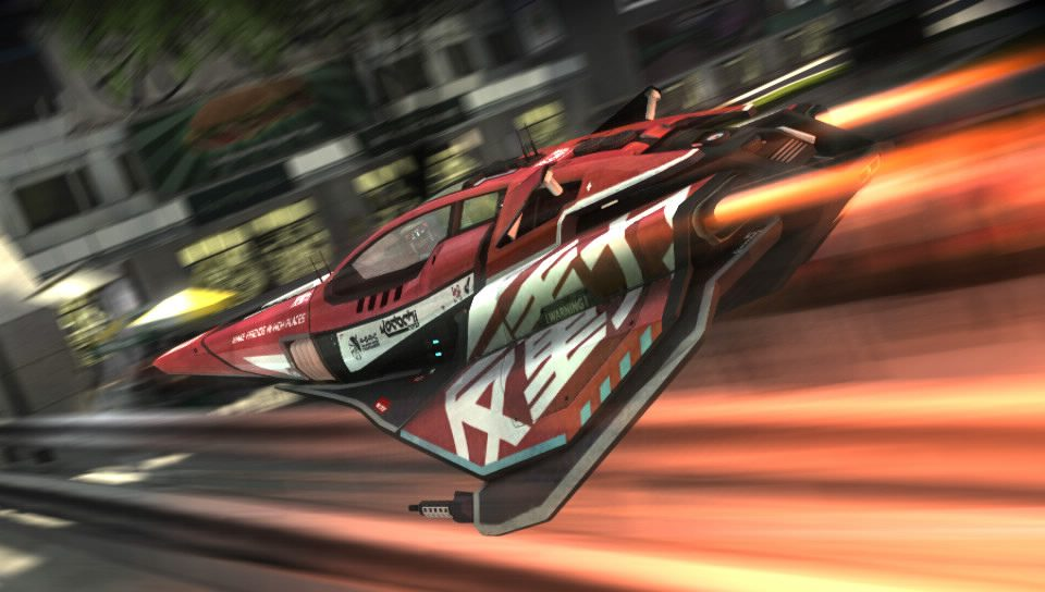 Step into the world of WipEout 2048