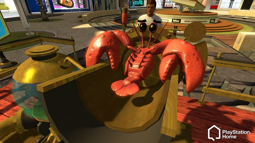 Oscar's Lobster Mania Comes to PlayStation Home + Weekly Update